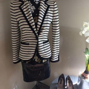 Zara Basic knit blazer size eur M/usa M 6